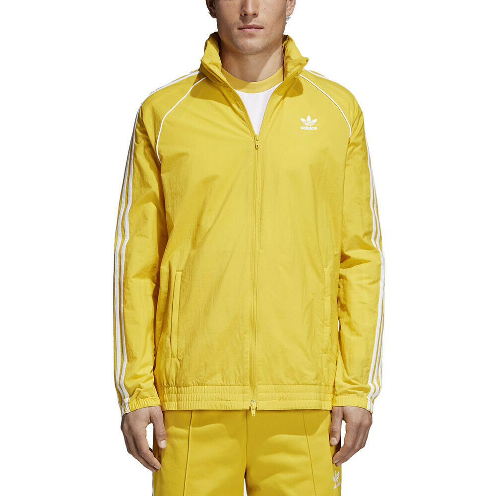 yellow adidas jacket