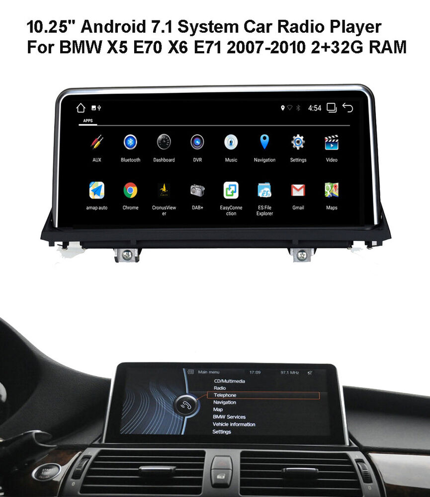 android car gps radio player for bmw x5 x6 e70 e71. Black Bedroom Furniture Sets. Home Design Ideas