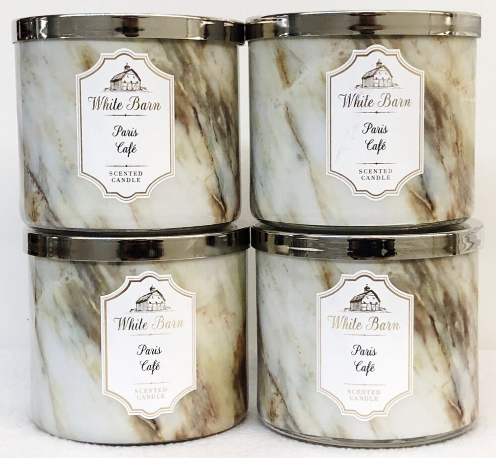 4 Bath Amp Body Works Paris Cafe Coffee Large 3 Wick Scented