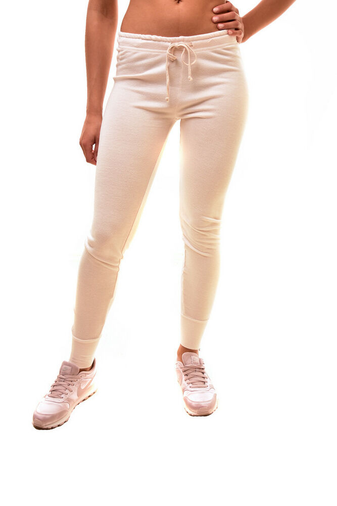 Details about Wildfox Women's Fame Jogger 026000 Slinky Terry Nude Haze S  RRP £110 BCF85
