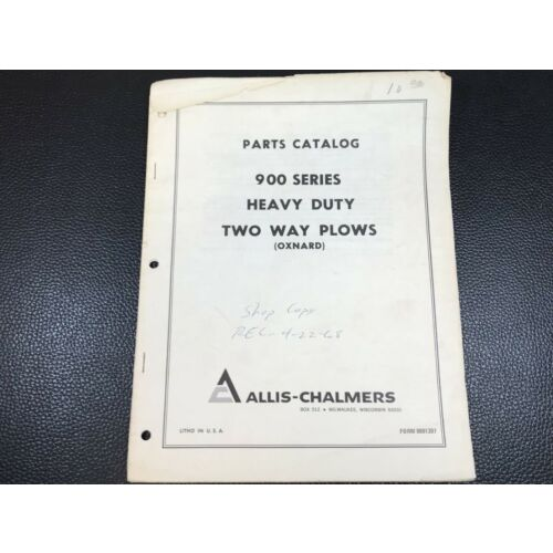 original-allis-chalmers-900-series-heavy-duty-two-way-plows-oxnard-parts-catalog