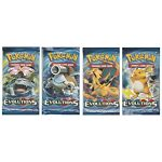 Pokemon XY Evolution pack x3 New, Unsearched, Sealed