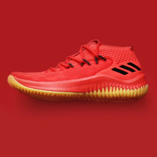timeless design 3a333 1654c Details about adidas Dame 4 CQ0186 400 Degreez Red Gum Black Lillard Dolla  Blazers Basketball