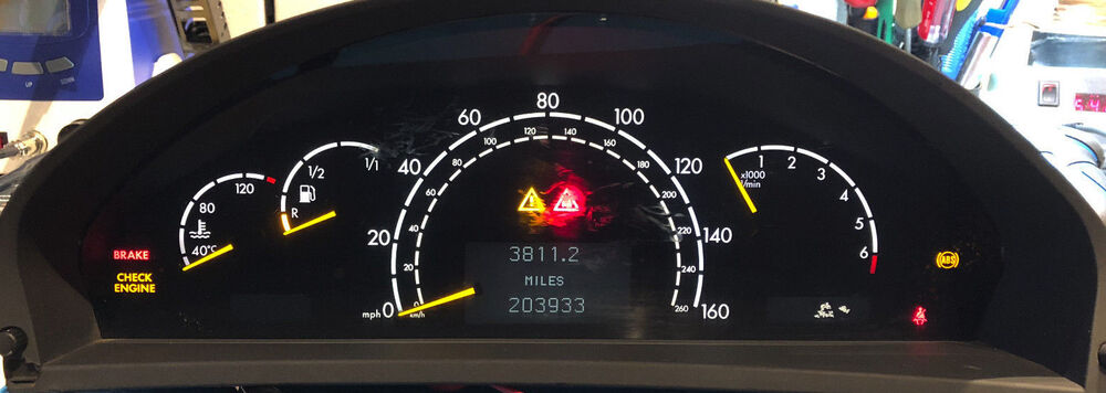 Bmw 2002 For Sale >> 2001 MERCEDES-BENZ S500 USED DASHBOARD INSTRUMENT CLUSTER FOR SALE | eBay