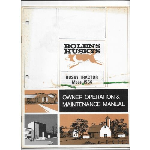 original-oem-oe-bolens-husky-model-1556-tractor-operators-owners-manual-552458