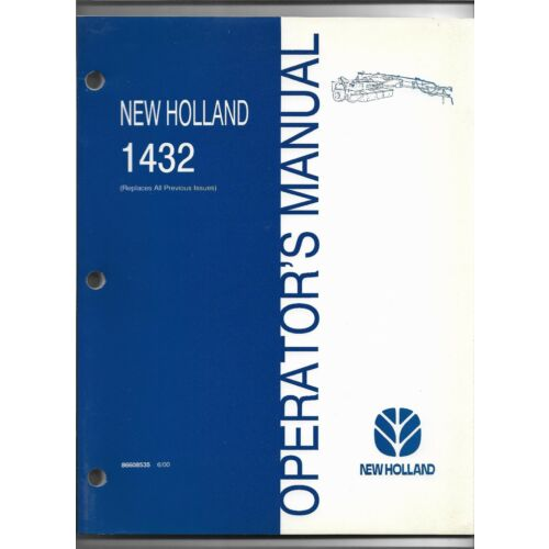 original-oe-new-holland-model-1432-mower-conditioner-operators-manual-86608535