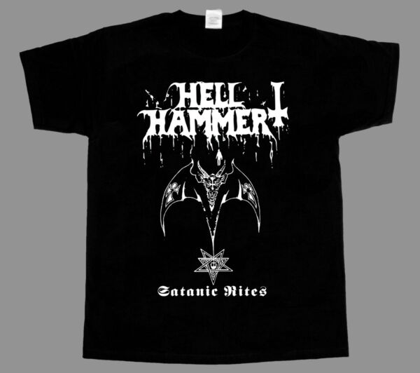 hellhammer satanic rites celtic frost NEW BLACK SHORT/LONG SLEEVE T-SHIRT