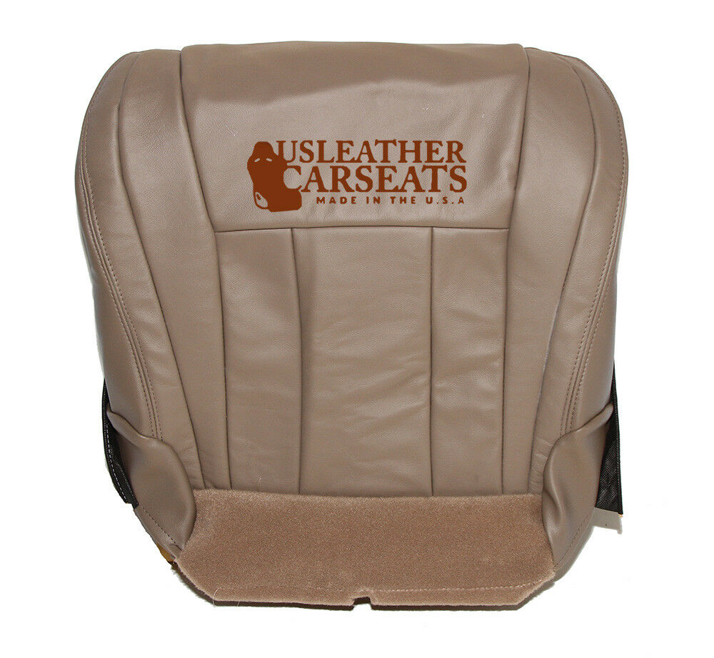 Driver Bottom Tan Leather Seat Cover For 2000 Toyota