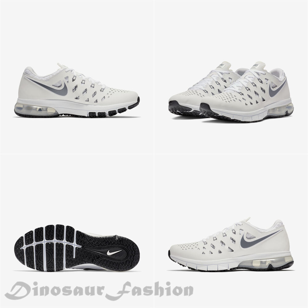 c518f3c626 Details about NIKE AIR TRAINER 180 White Cool Grey Black 916460 101,Men's  Training Shoes NWB