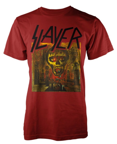 Slayer 'Seasons In The Abyss' T-Shirt - NEW & OFFICIAL!