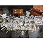 Jewelry Lot! Old Vintage-Sterling-G.F. Junk Drawer & Nice.Mens Stuff-Pounds-LBS!