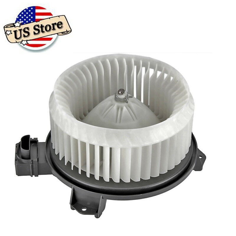 front heater blower motor w fan cage for 2007 2008 2009. Black Bedroom Furniture Sets. Home Design Ideas