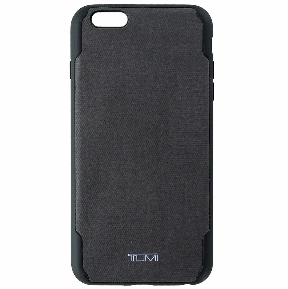 on sale 4679b f2f4f Brand New TUMI Coated Canvas Co-Mold Case for iPhone for 6/6s Plus, Grey  840076150762 | eBay