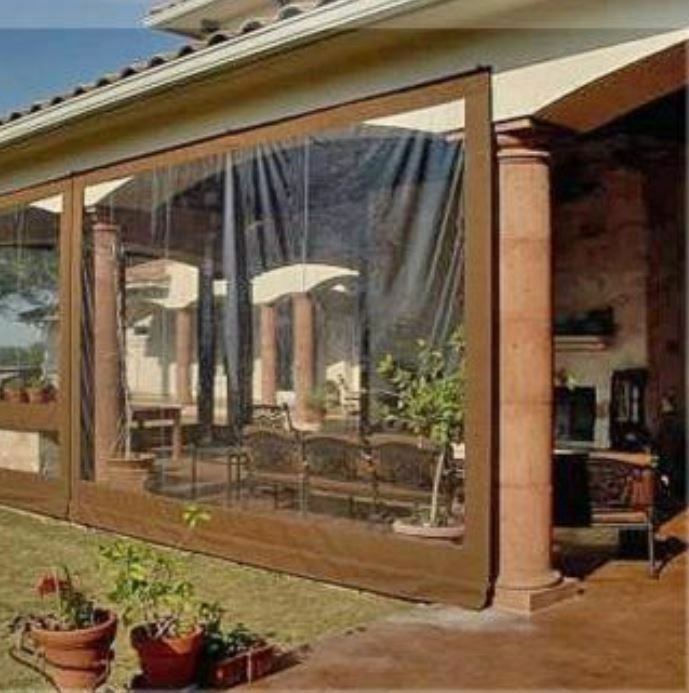 Waterproof Commercial Grade 0.5mm Vinyl Clear Awning ...
