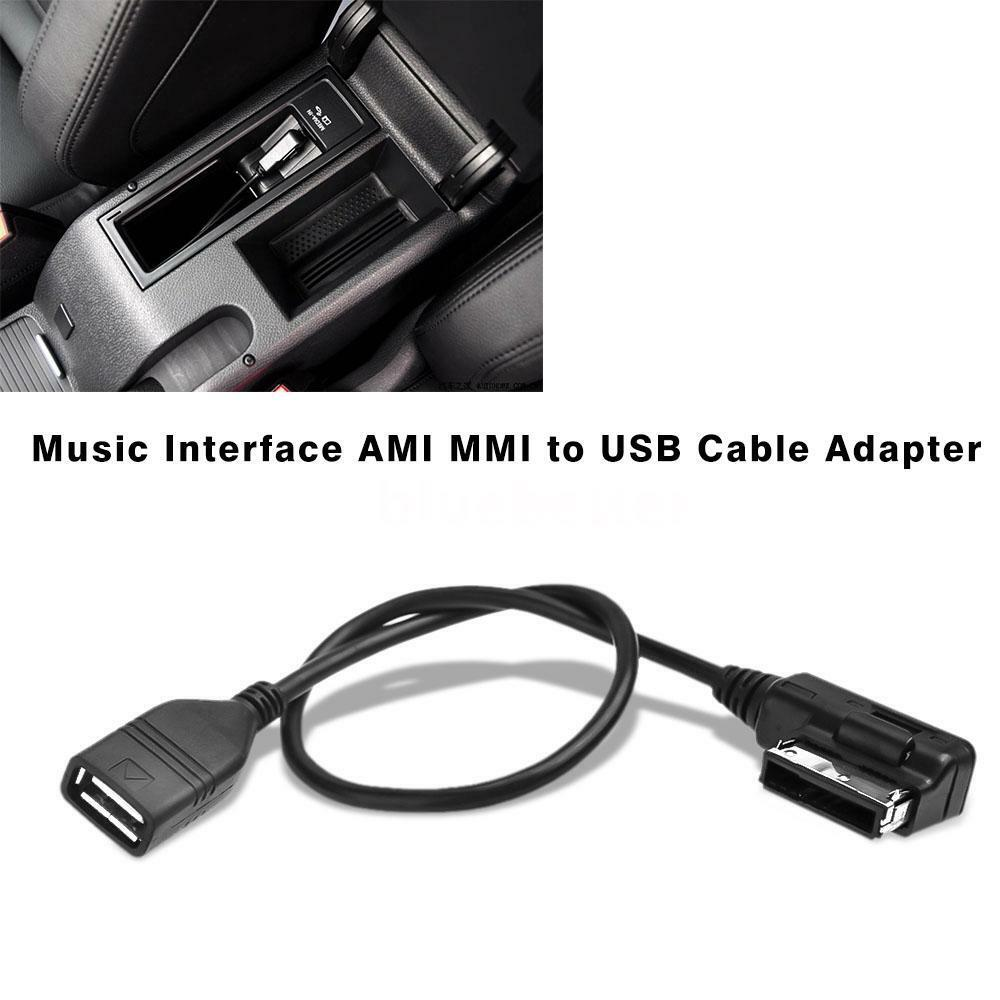 music interface ami mmi to usb cable adapter for audi a3 a4 a6 q5 q7 q8 r8 f8d6 ebay. Black Bedroom Furniture Sets. Home Design Ideas