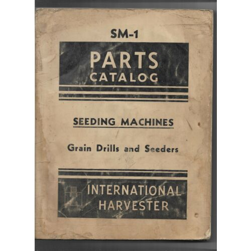 international-horse-tractor-seeding-machines-grain-drill-seeders-parts-catalog