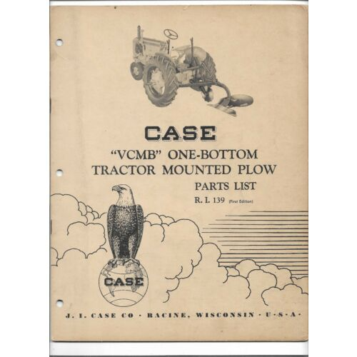 original-case-vcbm-one-bottom-tractor-mounted-plow-parts-catalog-number-ri-139