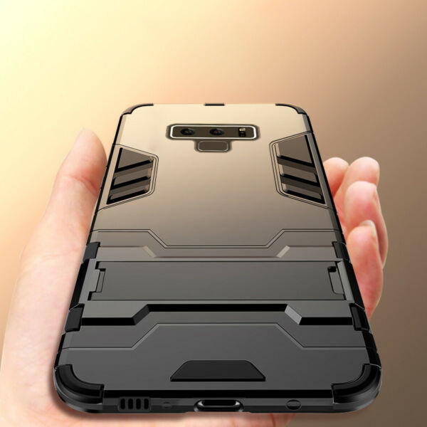 For Samsung Galaxy Note 9 8 Shockproof Hybrid Kickstand Armor Hard Case Cover