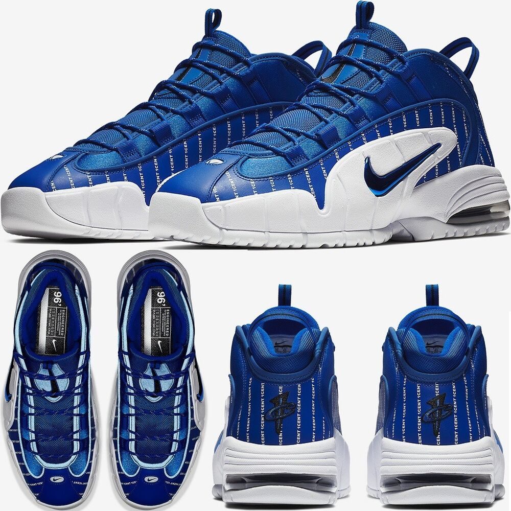 "ef962a248f04 Details about Nike Air Max Penny 1 ""Pinstripe"" Lil Penny Sneakers Men s  Lifestyle Comfy Shoes"