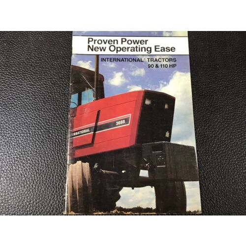 original-oem-international-3288-3688-90-and-110hp-tractor-sales-brochure-booklet