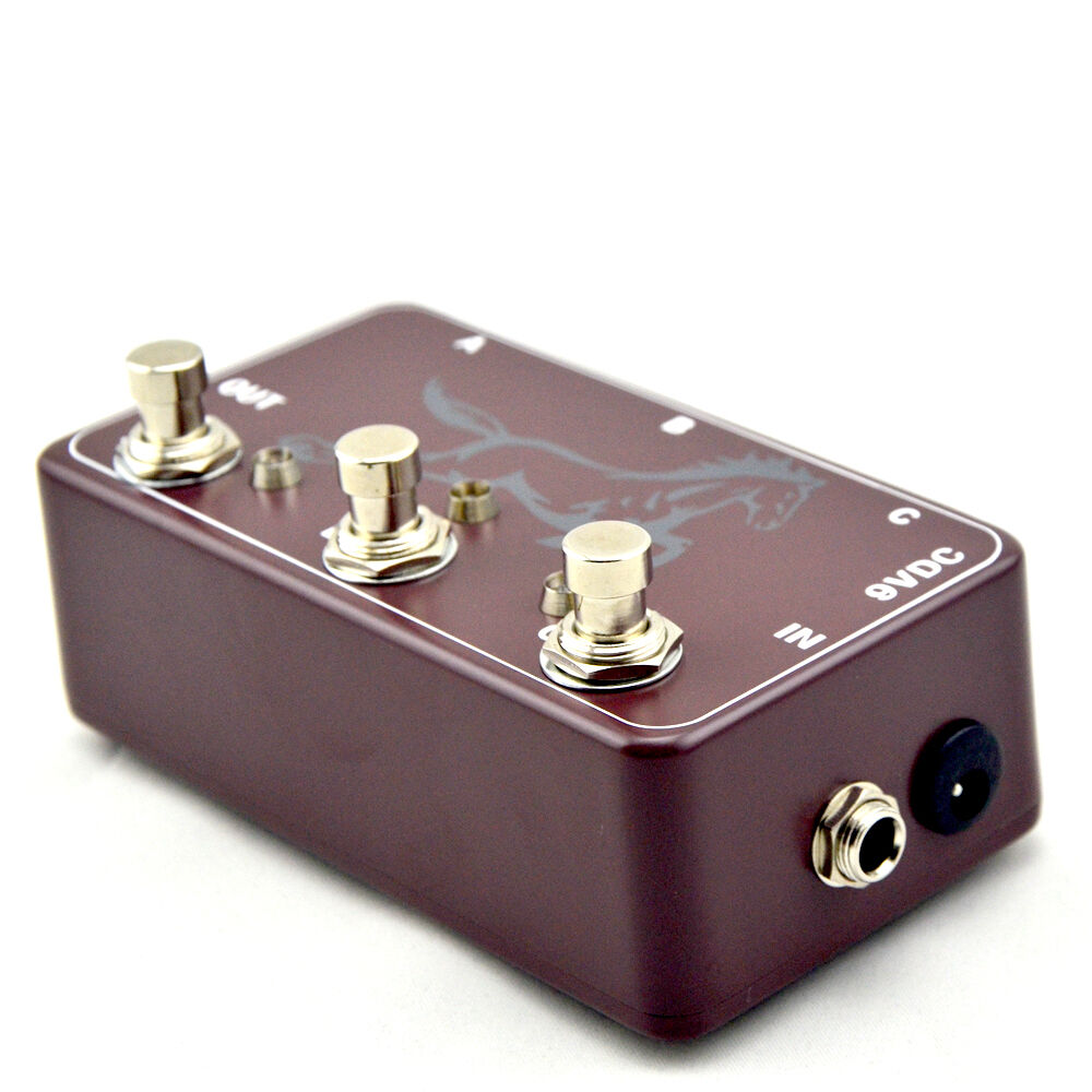 new hand made triple effects loop pedal 3 looper switcher guitar pedal br 1 702756454099 ebay. Black Bedroom Furniture Sets. Home Design Ideas