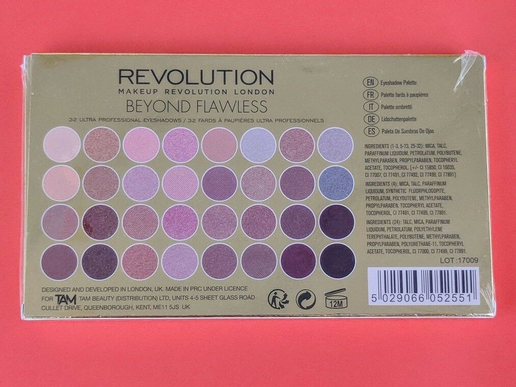 EAN 5029066052551 product image for Makeup Revolution 32 Shade Eyeshadow Palette Beyond Flawless | upcitemdb.
