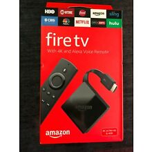 NEW Amazon Fire TV with 4K ULTRA HD and Alexa Voice Remote Black, 2017 3rd Gen