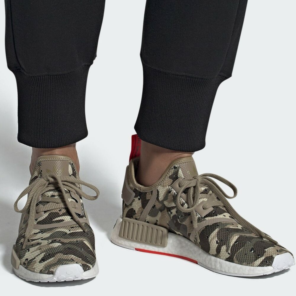 091ae4dd36b96 ADIDAS ORIGINALS NMD R1 Clear Brown Solar Red MEN S COMFY SHOE LIFESTYLE  SNEAKER