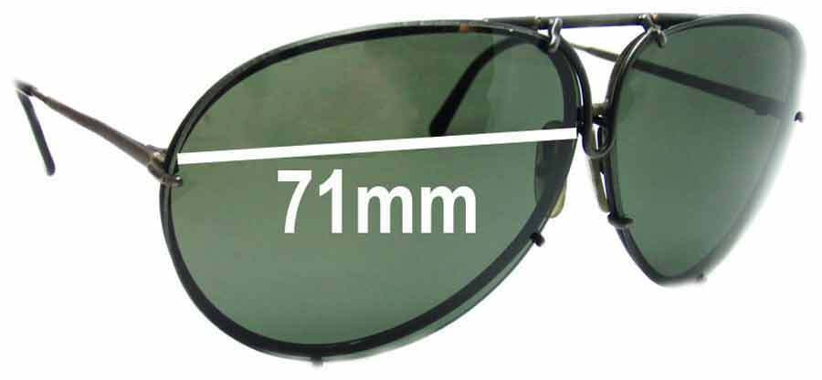 0bc5e5dcb101 Details about SFx Replacement Sunglass Lenses fits Carrera 5621 - 71mm wide