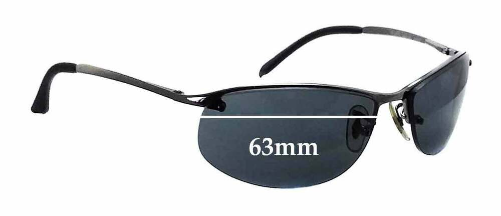 4f14d55eda Details about SFx Replacement Sunglass Lenses fits Ray Ban RB3179 - 63mm  Wide