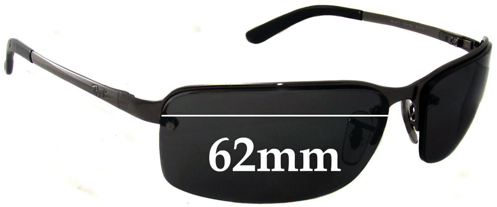 63602971e4 Details about SFx Replacement Sunglass Lenses fits Ray Ban RB3217 - 62mm  Wide