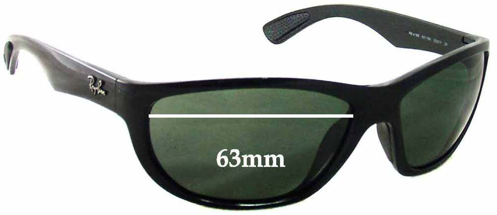 c3c5df089cb396 Details about SFx Replacement Sunglass Lenses fits Ray Ban RB4188 - 63mm  wide