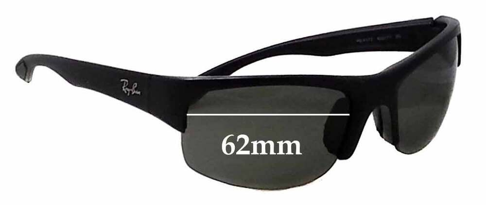 9cfcd172a19 Details about SFx Replacement Sunglass Lenses fits Ray Ban RB4173 - 62mm  Wide