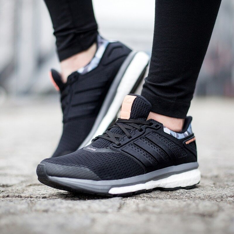 the latest f1af6 3baf2 Details about ADIDAS SUPERNOVA GLIDE 8 BOOST WOMENS LADIES KIDS NEUTRAL  RUNNING SHOES TRAINERS