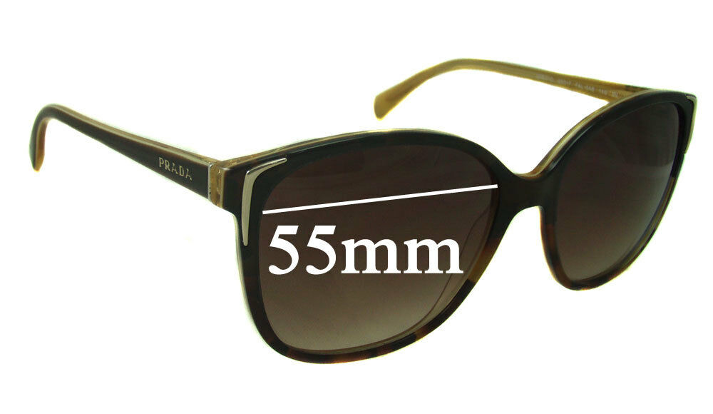 1179ac08c0 Details about SFx Replacement Sunglass Lenses fits Prada SPR01O - 55mm wide