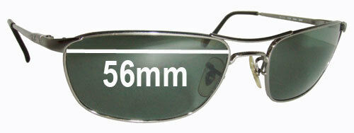 641135b33cd Details about SFx Replacement Sunglass Lenses fits Ray Ban RB3132 - 56mm  wide