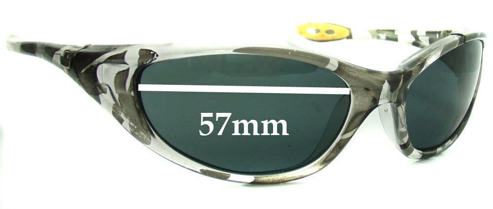 991f083d08 Details about SFx Replacement Sunglass Lenses fits Spy Optics - M1 Micro  Scoop M1 - 57mm Wide