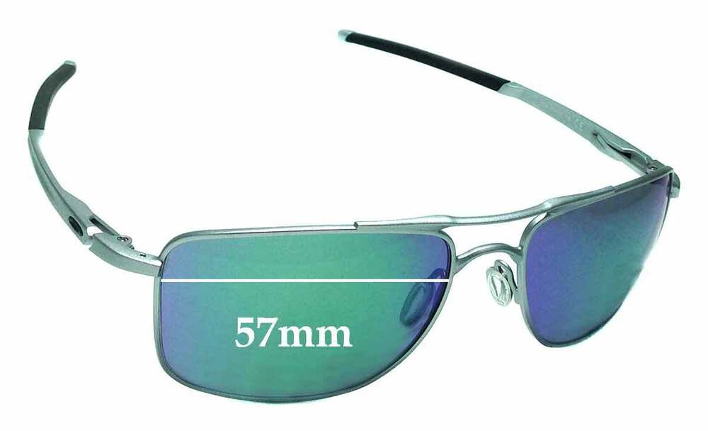 a0ca5477e7 Details about SFx Replacement Sunglass Lenses fits Oakley Gauge 8 OO4124 -  57mm Wide