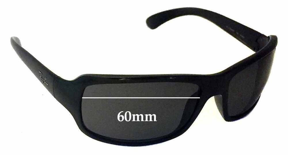 96a7f202af Details about SFx Replacement Sunglass Lenses fits Ray Ban RAJ1554AA RC001  - 60mm wide  Please