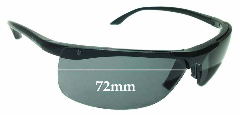 c31c20819e5 Details about SFx Replacement Sunglass Lenses fits Ray Ban RB 4085 - 72mm  Wide