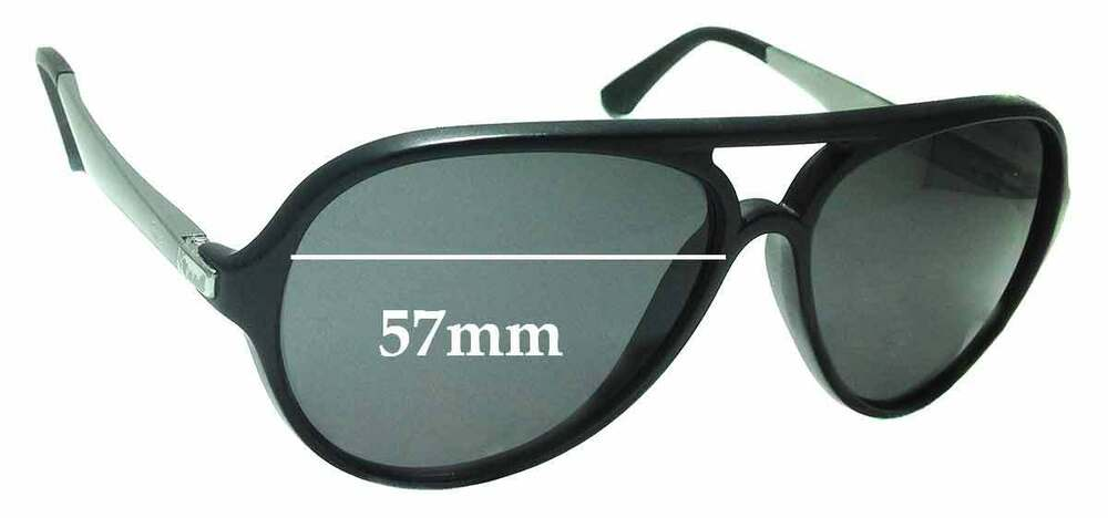 009d40b73b Details about SFx Replacement Sunglass Lenses fits Ray Ban RB4235 Havana -  57mm wide
