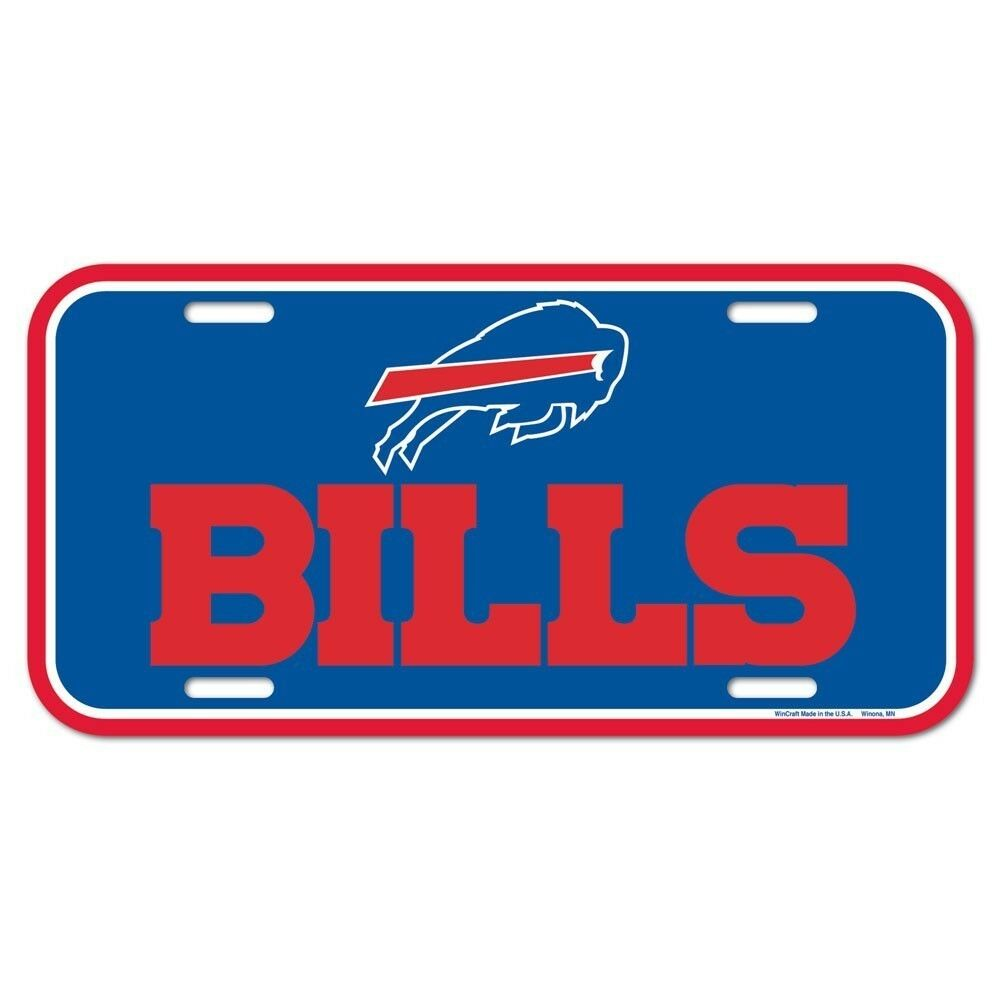 Details about BUFFALO BILLS ~ (1) Official NFL Team Logo Color License  Plate ~ New! 7126376a1