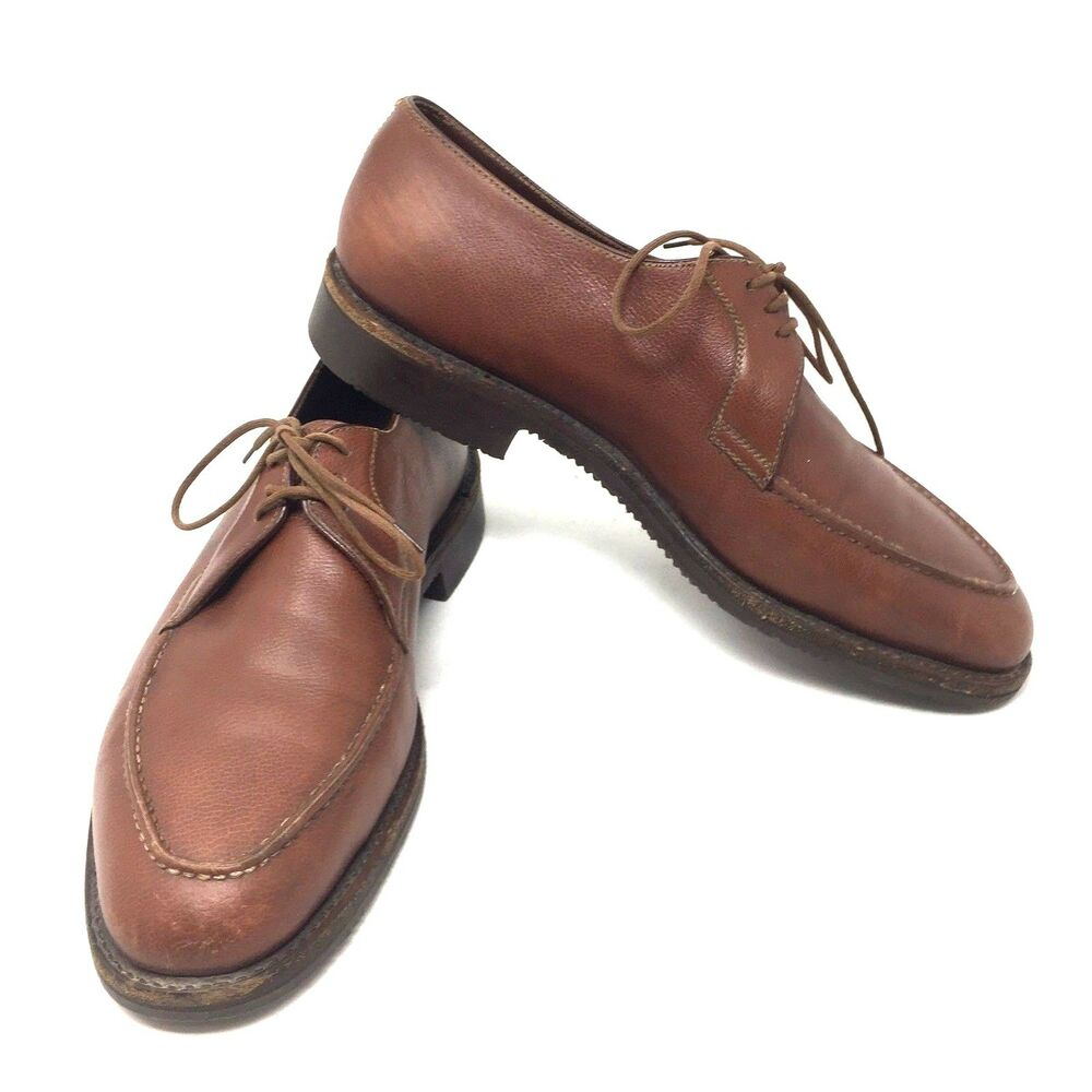 Foster And Son Brown Leather Oxford Dress Shoes Us 9 Mens English