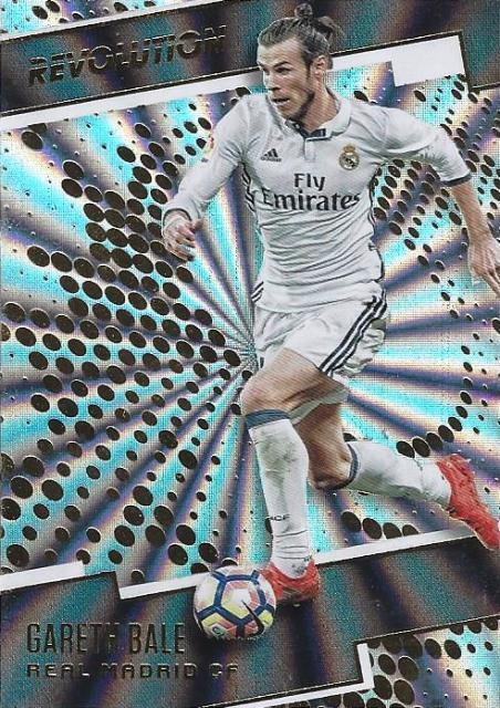 c5a52bbea 2017 Panini Revolution Soccer - Sunburst Parallel (Retail) - Real Madrid -  1-10