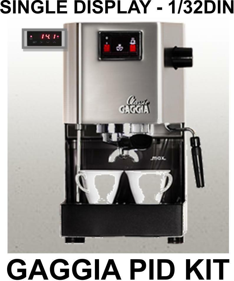 Gaggia Classic Pid Kit 132din Single Display All Parts And Full