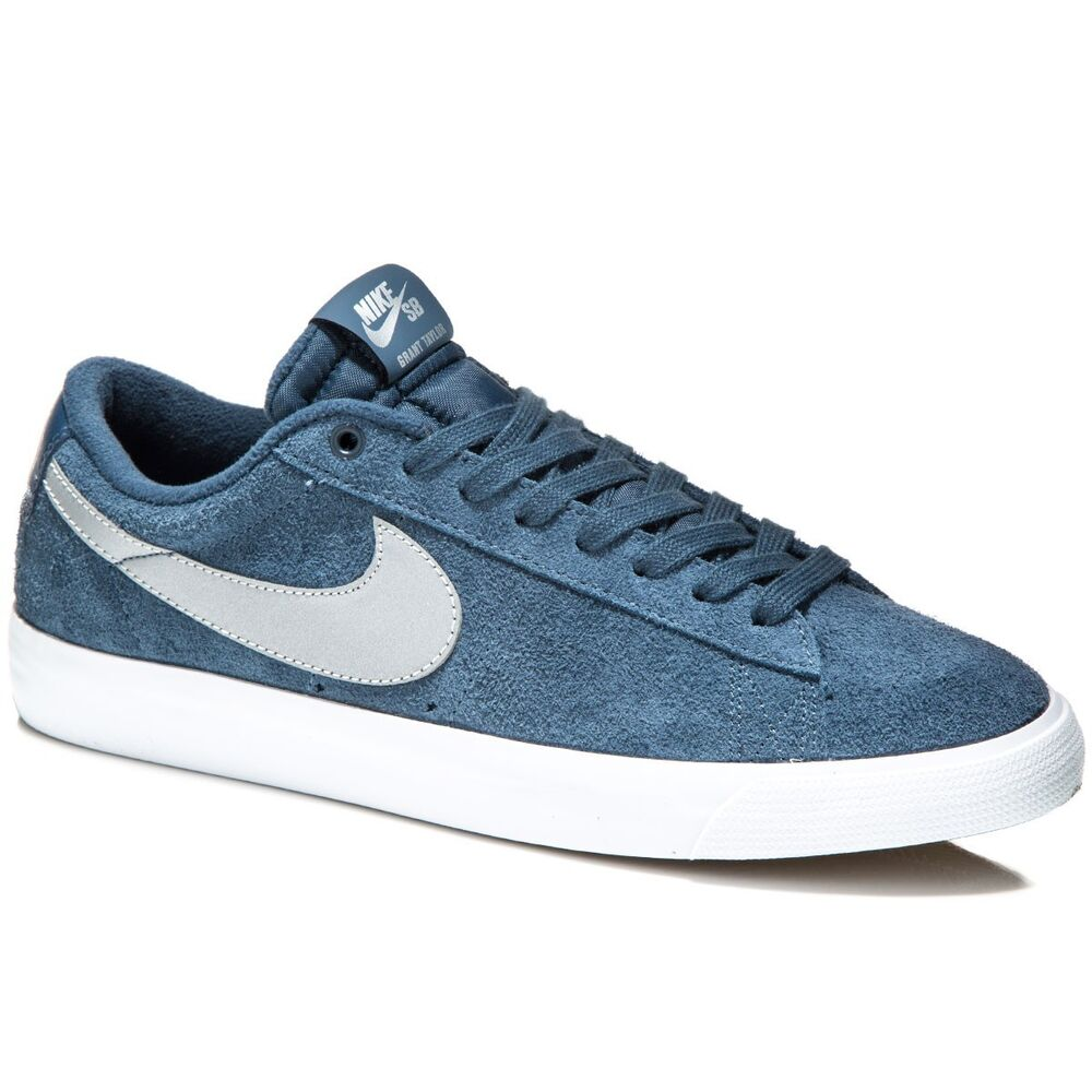 lowest price 0ee7f 6b1f8 Details about NIKE SB Blazer Low Grant Taylor Skate Shoes