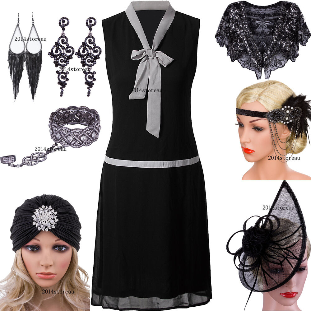 Gatsby Dresses: Roaring 20s Great Gatsby Dresses Womens 1920s Flapper
