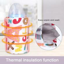 Baby Kids Bottle Warmer Insulation Cover Feeding Portable Milk Heater Bag USB