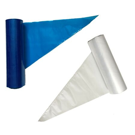 img-Strong Piping Savoy Bags Clear / Blue 21 and 18 inch Disposable Icing/Food/Mash