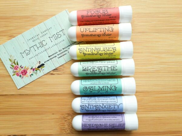 Essential Oil Inhalers, Aromatherapy Inhaler, You Choose One or a Set